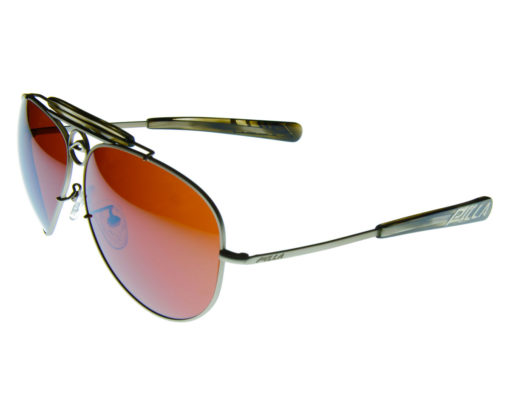 Mustang 60A - Pilla - Silver with Smoke Acetate - 10ED lens