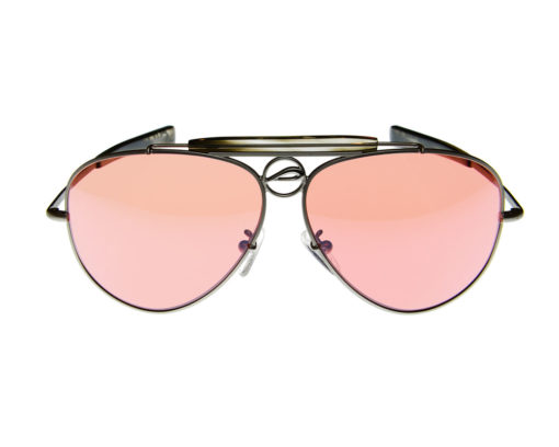 Mustang 60A - Pilla - Silver with Smoke Acetate - 54HC lens