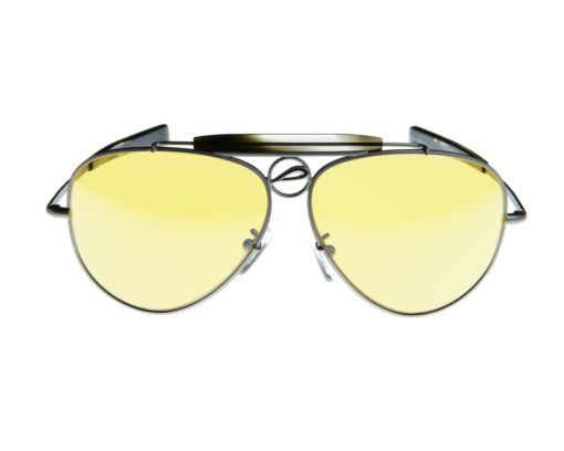 Mustang 60A - Pilla - Silver with Smoke Acetate - 76HC lens