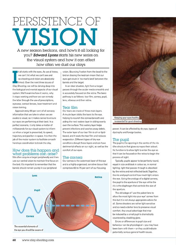 Persistence of vision - Ed Lyons