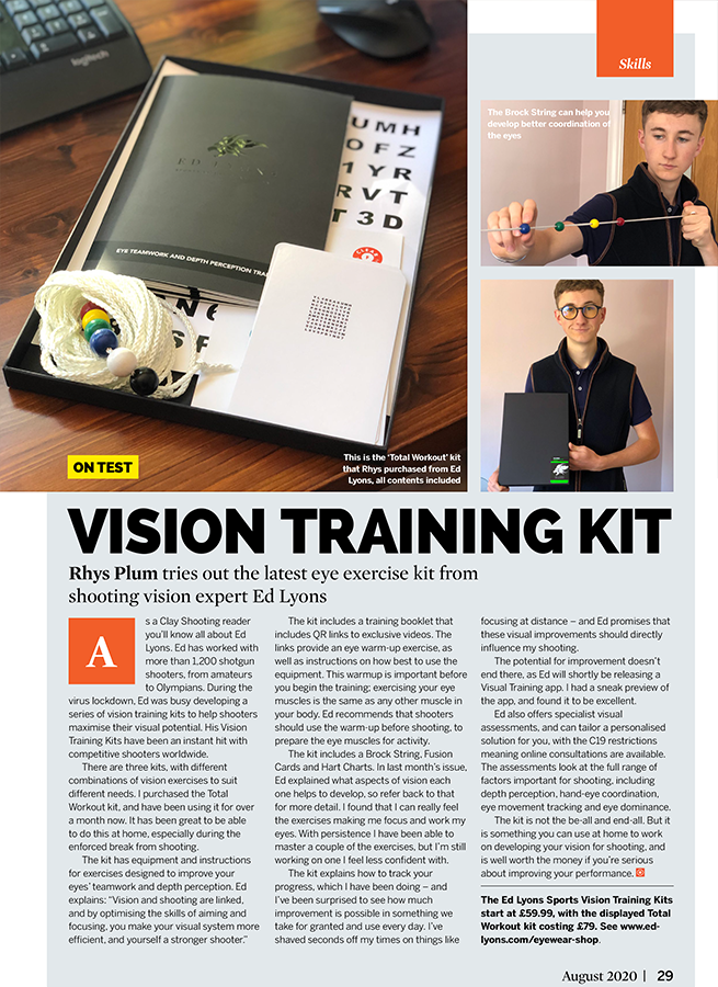 Ed-Lyons Vision Training Kit