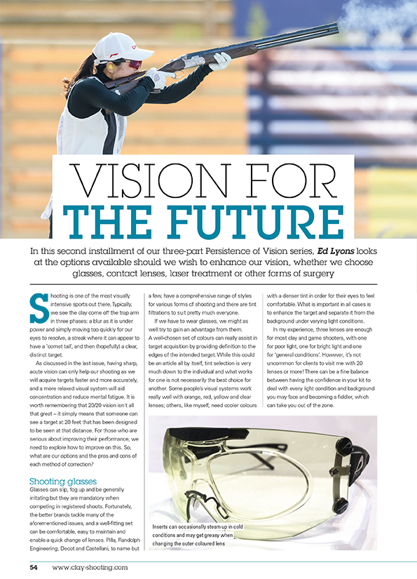 Vision for the future - Ed Lyons